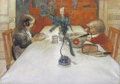 Carl Larsson - The Evening Meal