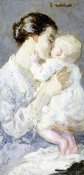 Julius Gari Melchers - Julia Payne and Her Son Ivan