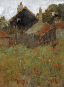 Willard Leroy Metcalf - The Poppy Field