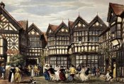 Joseph Nash - Little Moreton Hall, Cheshire