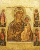 Novgorod School - Mother of God Smolenskaia