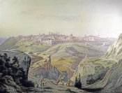 Friedrich Perlberg - A View of Jerusalem