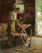 Edward Henry Potthast - Blacksmith