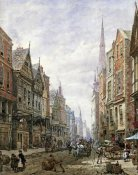 Louise Rayner - Watergate Street, Chester