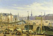 Martinus Rorbye - A View of Copenhagen
