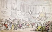 Thomas Rowlandson - The Comforts of Bath - The Ball