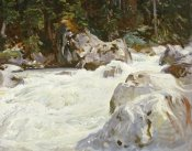 John Singer Sargent - A Torrent in Norway