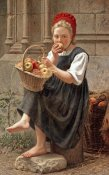 Charles-Victor Thirion - The Apple Girl
