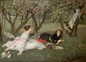 James Jacques Tissot - Spring (Le Printemps), 1865