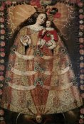 Unknown - The Virgin of Pomata With a Rosary