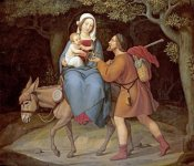 Heinrich Maria Von Hess - The Flight Into Egypt