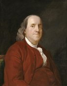 Joseph Wright - Benjamin Franklin