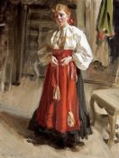 Anders Leonard Zorn - Girl In Orsa Costume
