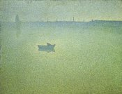Charles Angrand - Seine at Dawn