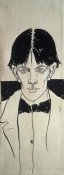 Aubrey Beardsley - Self Portrait
