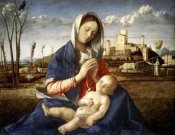 Giovanni Bellini - Madonna of The Meadow