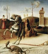 Giovanni Bellini - Saint George  from The Pala Pesaro