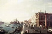 Bernardo Bellotto - View of Molo In Venice #1