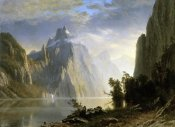 Albert Bierstadt - A Lake in the Sierra Nevada
