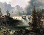 Albert Bierstadt - Rocky Mountain Stream