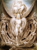 William Blake - The Whirlwind : Ezekiel's Vision
