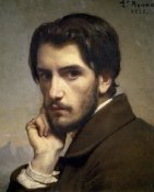 Leon Bonnat - Self-Portrait