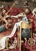 Hieronymus Bosch - Garden of Earthly Delights - Detail #10