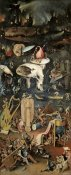 Hieronymus Bosch - Garden of Earthly Delights - Detail, Right Panel
