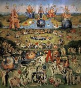 Hieronymus Bosch - The Garden of Earthly Delights (Center Panel)