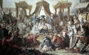 Francois Boucher - Chinese Curio:Audience of The Chinese Emperor