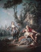 Francois Boucher - Flower Gatherers