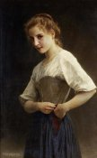 William-Adolphe Bouguereau - At the Start of the Day
