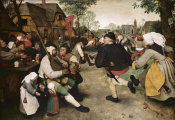 Pieter Bruegel the Elder - Peasants Dancing