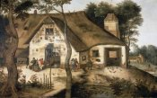 Pieter Bruegel the Younger - Auberge Saint-Michel