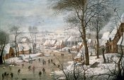 Pieter Bruegel the Younger - Winter Landscape #1