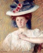 Mary Cassatt - Portrait of Helen Sears