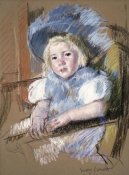 Mary Cassatt - Simone Seated