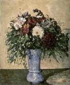 Paul Cezanne - Bouquet In a Blue Vase