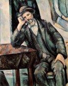 Paul Cezanne - Man Smoking a Pipe
