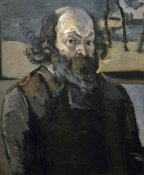 Paul Cezanne - Portrait of The Artist