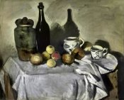 Paul Cezanne - Still Life with Table Utensils