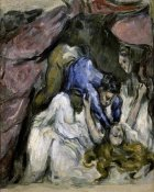 Paul Cezanne - The Strangled Woman (Le Femme Stranglee)