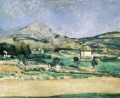 Paul Cezanne - Valley of Mount St. Victoire