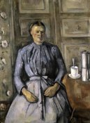 Paul Cezanne - Woman at The Cafeteria