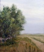 William Merritt Chase - Country Lane