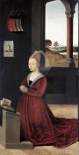 Petrus Christus - Portrait of a Female Donor