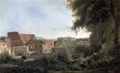 Jean-Baptiste-Camille Corot - Colosseum Seen Through The Farnese Gardens