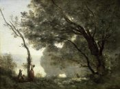 Jean-Baptiste-Camille Corot - Souvenir of Mortefontaine