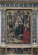 Carlo Crivelli - Madonna & Child With St. Jerome & St. Sebastian