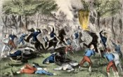 Currier and Ives - Battle of Bull Run, Va., July 21St, 1861